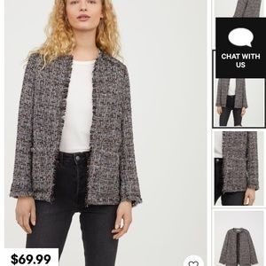 "H&M ""shimmery Jacket"""